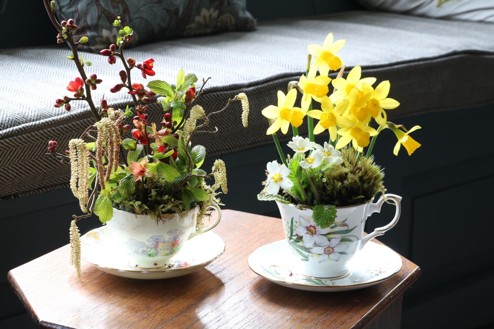 पुराने चाय की केतली में आप पौधे उगाकर घर के आंगन में रख या फिर टांग सकते हैं।