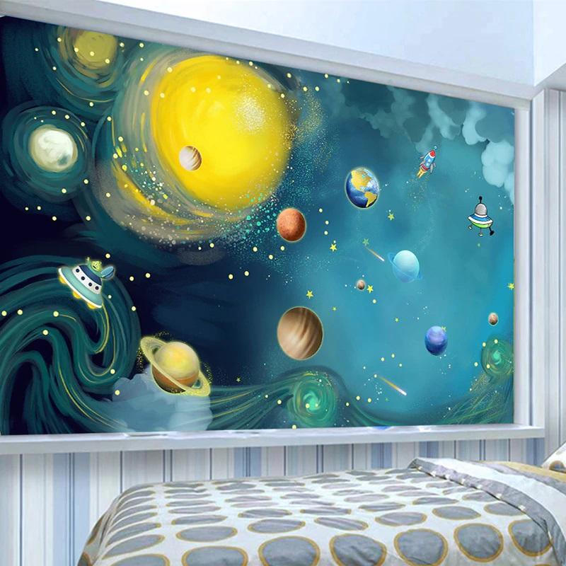 बच्चों के कमरे की सजावट ऐसी होनी चाहिए जो उनके मूड़ को खुशनुमा बना दें।