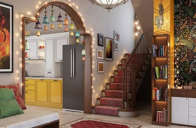 घर को भी लाइट्स व फूलों से सजाएं।