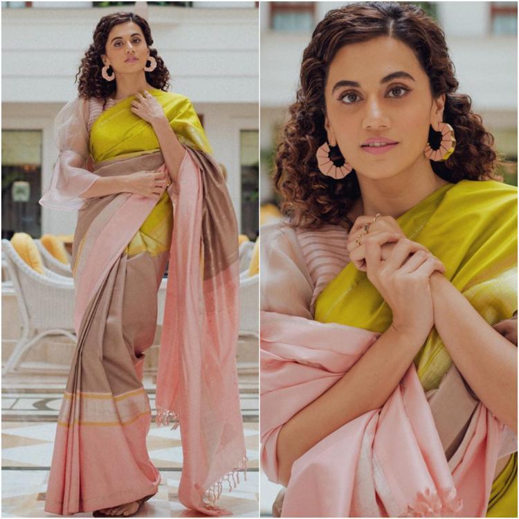 तापसी पन्नू आज अपना 33वां जन्मदिन मना रही हैं। एक्टिंग के साथ-साथ अभिनेत्री अपने फैशन के लिए भी जानी जाती हैं।