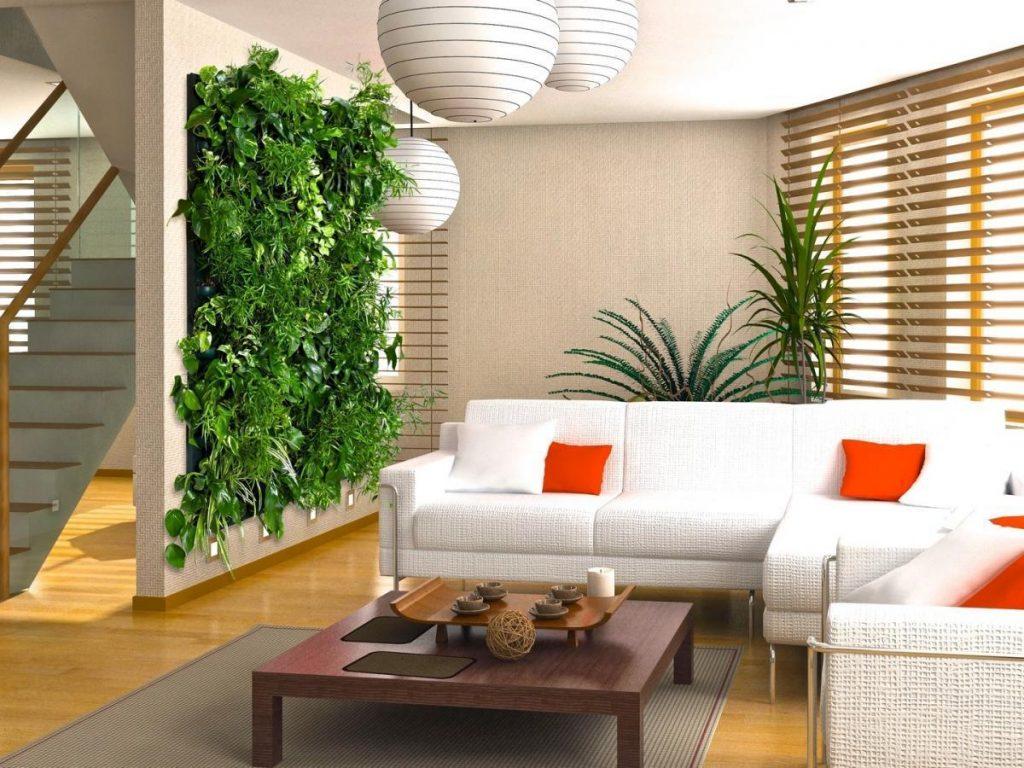 वर्टिकल गार्डन से भी आप अपने घर को डिफरेंट लुक दे सकते हैं।