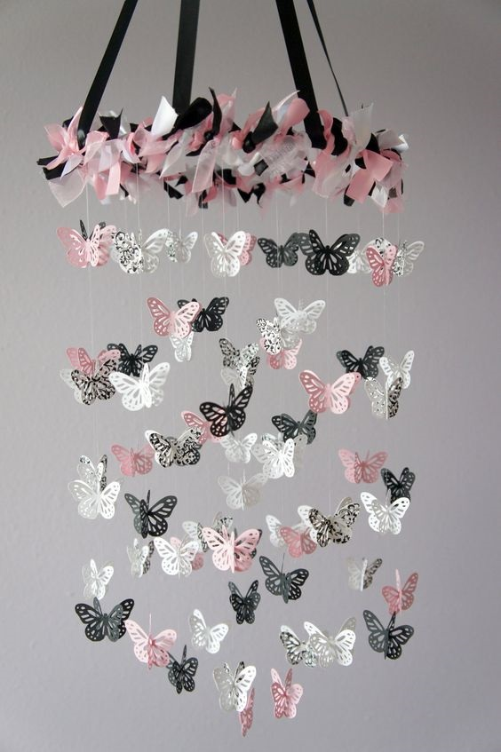 Image result for Paper Butterfly यूनिक अंदाज से हाईलाइट करें दीवार