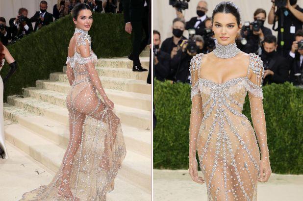 केंडल जेनर (Kendall Jenner) भी मेट गाला रेड कार्पेट पर बोल्ड लुक में नजर आईं। उन्होंने एक शीयर वाली ड्रेस चुनी, जिसपर काफी सारी ज्वेलरी लगी हुई थी।