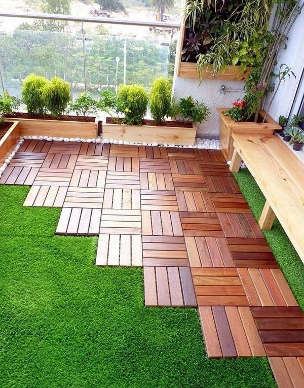 गार्डन ना सिर्फ घर की शोभा बढ़ाता है बल्कि इससे वातावरण भी शुद्ध होता है।
