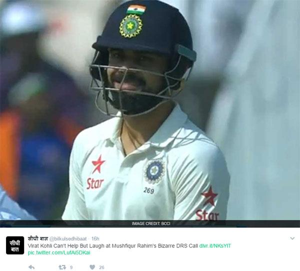 इस खिलाड़ी को कोहली के साथ पंगा लेना पड़ा भारी, ट्विटर पर उड़ा मजाक