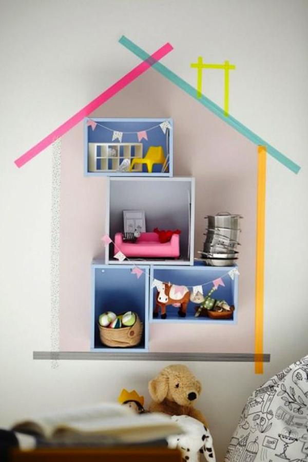 बच्चों का का कमरा उज्ज्वल, कलरफुल, रचनात्मक होना चाहिए और वाशी टेप (Washi Tape) इसमें आपकी मदद कर सकता है।