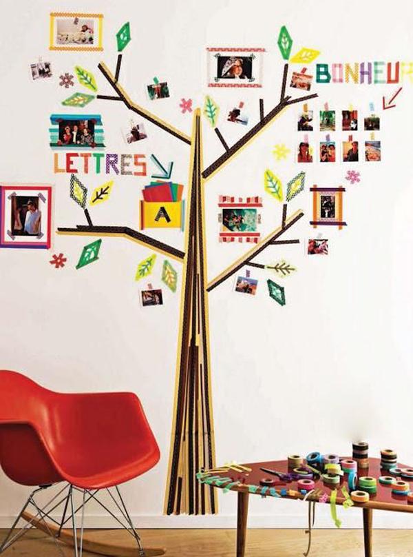 बच्चों के कमरे के लिए, वॉशी टेप से आप किस हिस्से व कैसे सजाना है, इसके लिए हम आपको कुछ आइडियाज देंगे, जिससे आप आइडिया ले सकते हैं।
