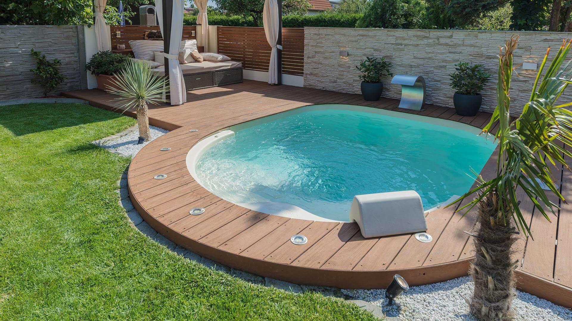 घर के किसी कोने को रियूज करने के लिए ऐसे स्विमिंग पूल बेस्ट ऑप्शन है।
