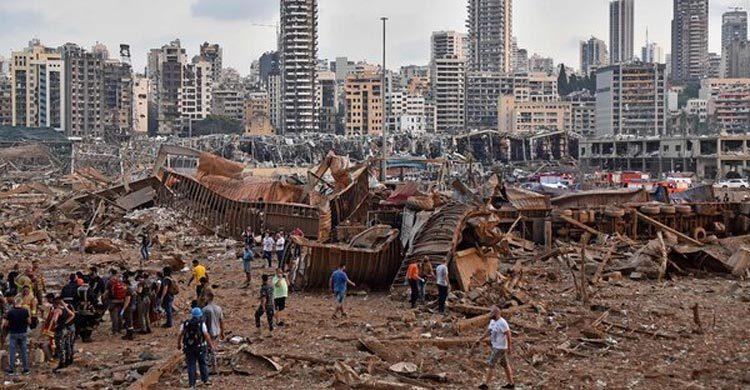 बम ब्लास्ट की दिल दहलाने वाली तस्वीरें