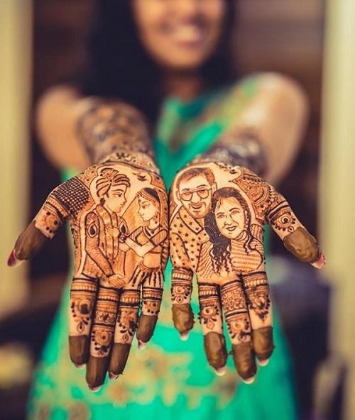 भारतीय शादियों में मेहंदी की रस्म अहम होती हैं क्योंकि इसे सुहाग की निशानी माना जाता है। इस दिन न सिर्फ दुल्हन को मेहंदी लगाई जाती है बल्कि उसकी सहेलियां या रिश्तेदार भी मेहंदी लगाने का शगुन पूरा करती हैं।