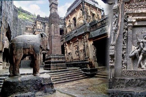 अजंता की गुफाएं भी महाराष्ट्र के औरंगाबाद जिले में स्थित है। कहा जाता है कि इन प्राचीन गुफाओं का विकास 200 ई.पू. से 650 ईस्वी के बीच हुआ था।