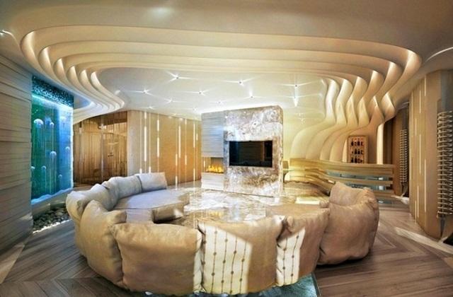 आप पीओपी से कमरे की छत पर खास डिजाइन बनवा सकती है।