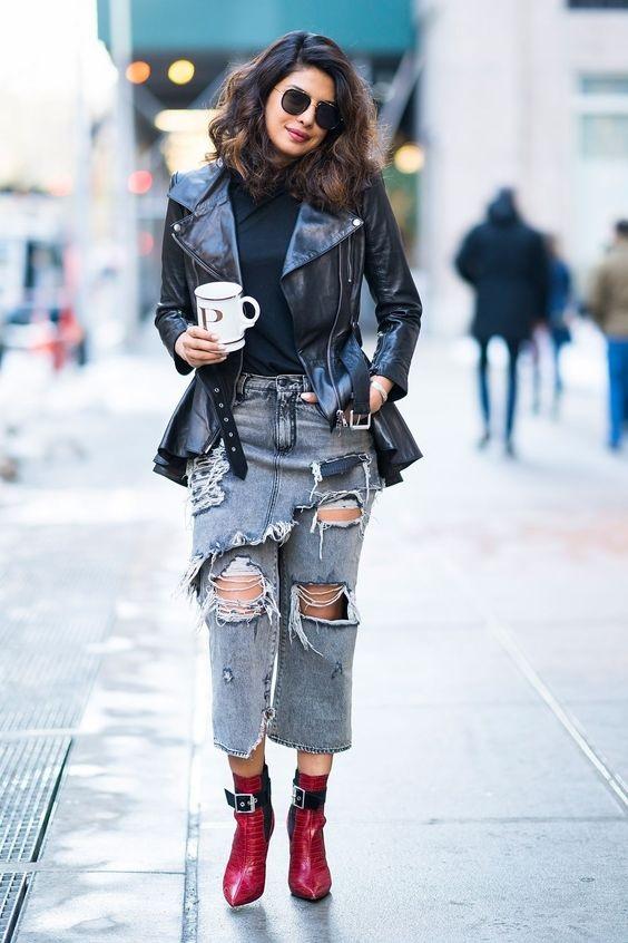 जींस या स्कर्ट के साथ पहनें स्टाइलिश बूट्स