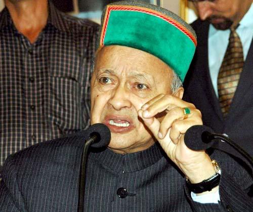 भाजपा कबायली क्षेत्र के मुद्दे पर करती है राजनीति : वीरभद्र