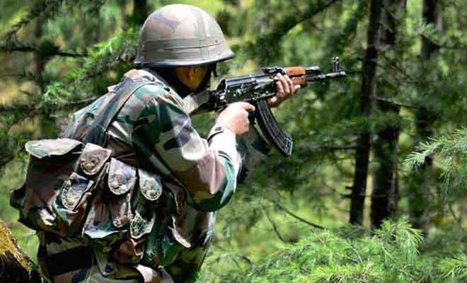 जम्मू-कश्मीर में सेना और आतंकियों के बीच हुई मुठभेड़,गोलाबारी जारी