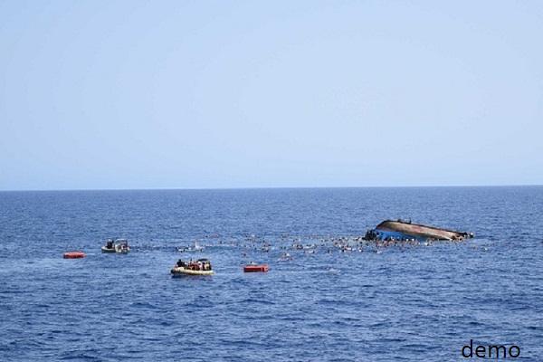 भूमध्य सागर में नौका दुर्घटनाग्रस्त, 25 की मौत