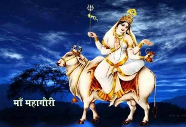 नवरात्र अष्टमी: अधूरी इच्छाएं होंगी पूरी, करें महागौरी का पूजन