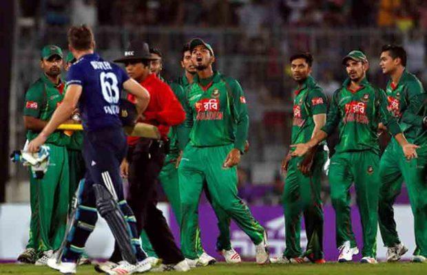 बटलर पर गुस्सा दिखाने के लिए बांग्लादेश के कप्तान पर जुर्माना