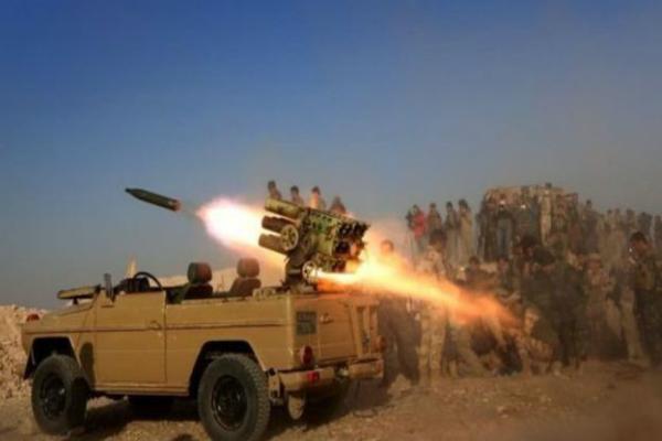 इराक में IS के 900 आतंकी ढेर