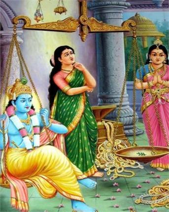 जब श्री कृष्ण की पत्नी ने कर दिया उनका दान...