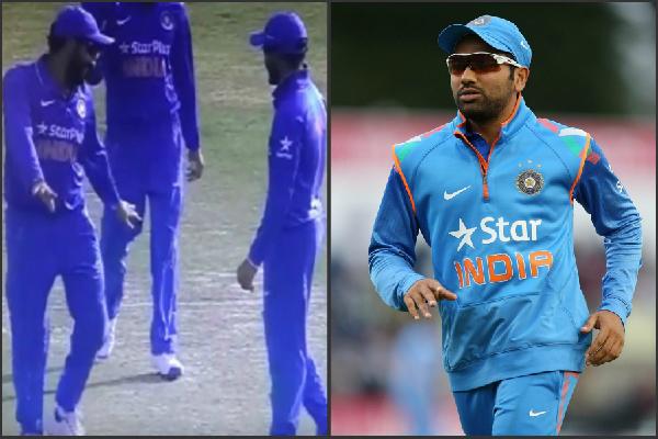 जब लाइव मैच के दौरान रोहित शर्मा करने लगे डांस, Video Viral
