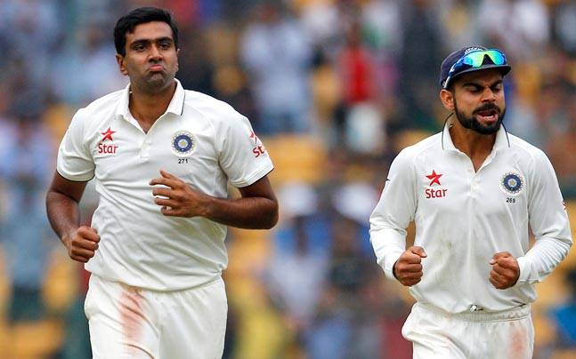 ICC टैस्ट रैंकिंग में टीम इंडिया और अश्विन नंबर 1