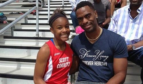 ओलिंपिक एथलीट टायसन गे की 15 साल की बेटी की गोली लगने से मौत