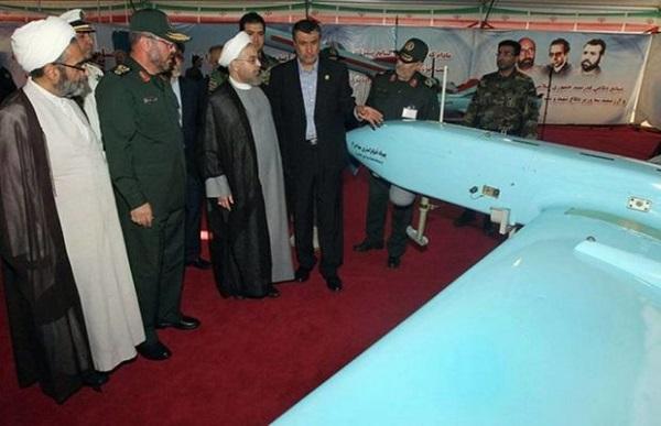 ईरान ने बनाया 'आत्मघाती ड्रोन'
