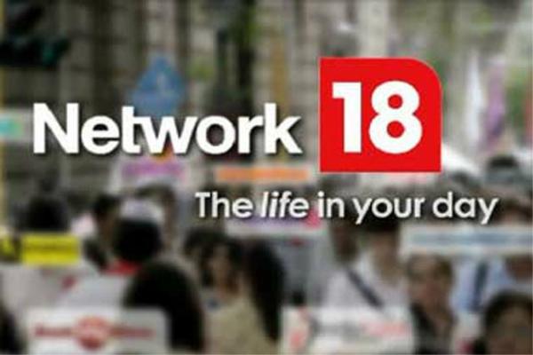 नेटवर्क 18 मीडिया को 66 करोड़ रुपए का शुद्ध घाटा