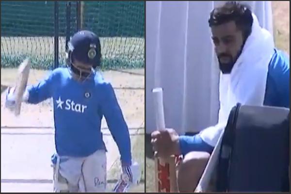 वनडे मैच से पहले फूटा विराट का गुस्सा