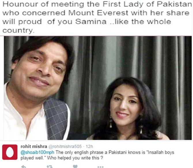 शोएब की ट्वीट से मचा बवाल, पाकिस्तान में भी हुई बेइज्जती!