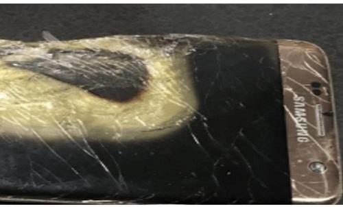 नोट 7 के बाद अब सैमसंग का एक और मोबाइल हुआ ब्लास्ट