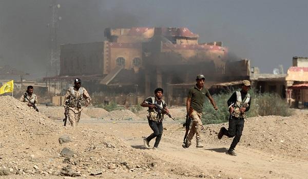 इराक सेना ने मार गिराए आई.एस. के 74 आतंकी
