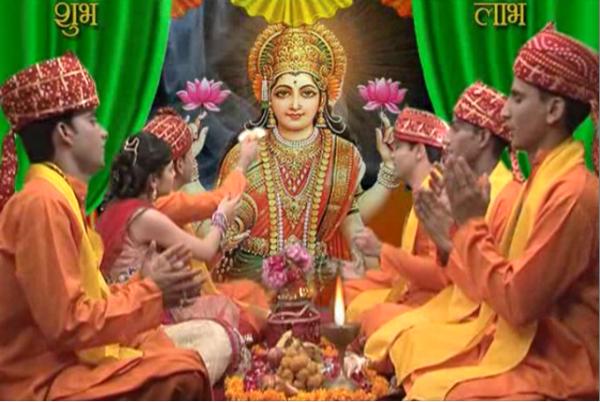 पंच महोत्सव आरंभ: ये है दैवीय शक्तियों की पूजन विधि, दीपावली में धन-वर्षा करती हैं