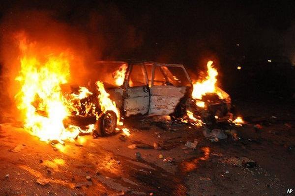 कार विस्फोट मेंगई 6 की जान