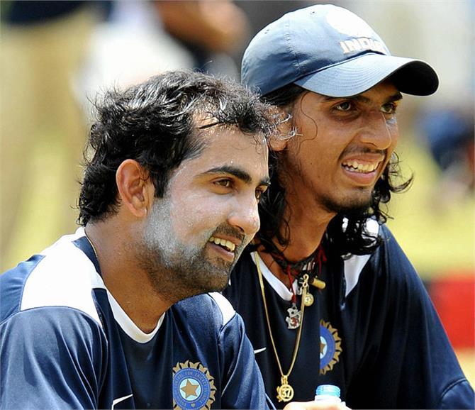दिल्ली के लिए रणजी मैच में खेलेंगे गंभीर और इशांत