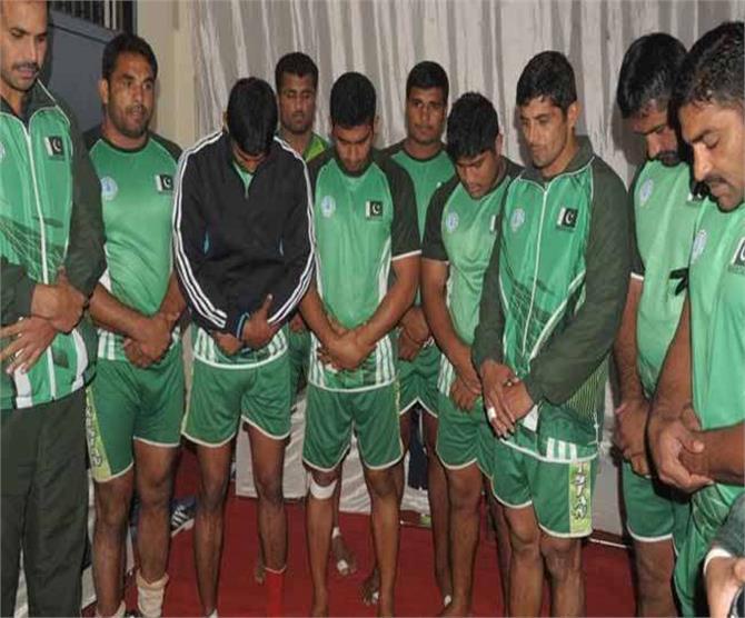 कबड्डी वर्ल्ड कप में पाकिस्तान के खेलने पर रोक