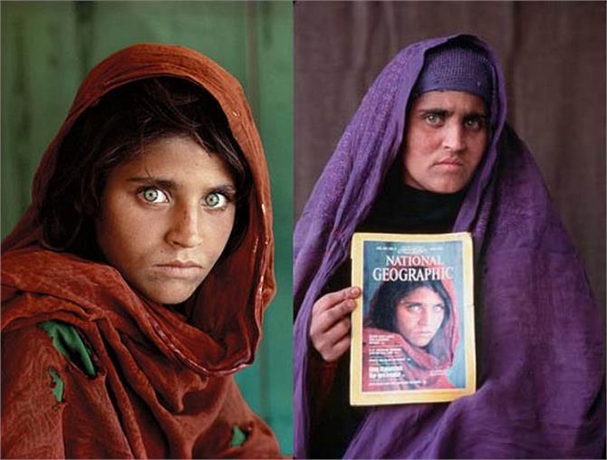 32 साल पहले सुर्खियों में आई अफगान गर्ल फिर चर्चा में, किया ये कांड