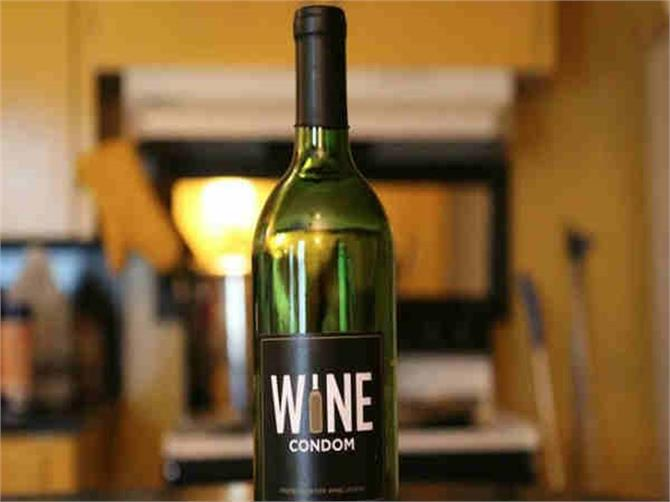 wine को सुरक्षित रखेगा अब कंडोम..!!