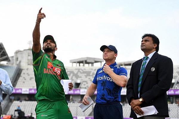 बांग्लादेश ने इंग्लैंड को 34 रनों से हराया