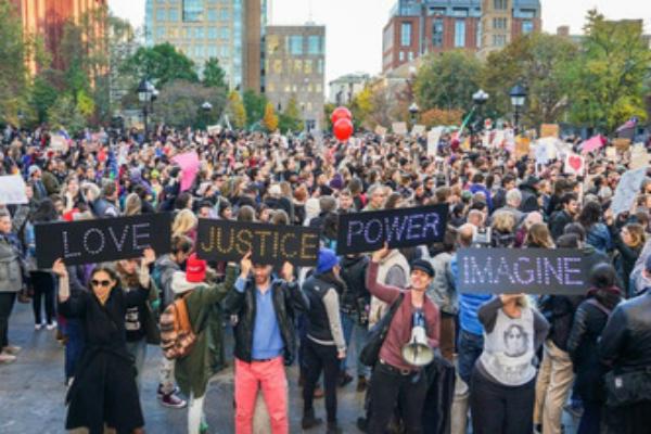 ट्रंप के विरोध में अमेरिका में प्रदर्शन जारी, सड़कों पर उतरे लोग