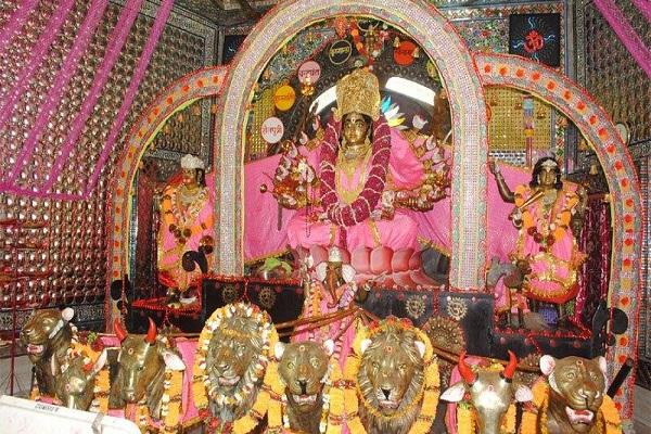 खुर्जा में विराजित हैं मां नवदुर्गा,108 परिक्रमा से पूर्ण होती संपूर्ण इच्छाएं