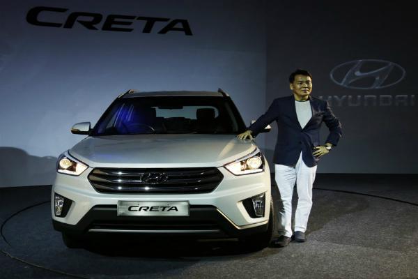 Hyundai  ने दिखाई नई Creta की झलक, 2017 में हो सकती है लांच