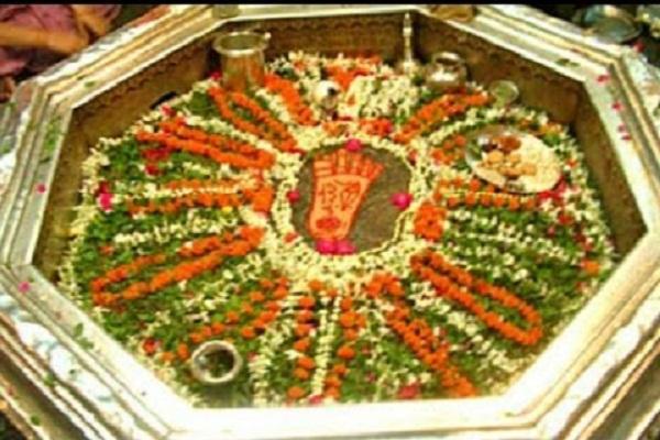 गया में है भगवान विष्णु के पदचिन्ह, दैत्य का वध कर देवताअों को दिलाई थी मुक्ति