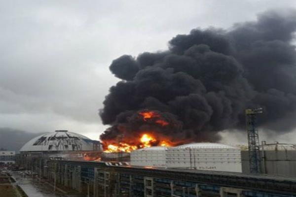 चीन के कारखाने में विस्फोट,12 व्यक्तियों की मौत की पुष्टि