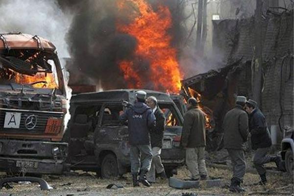 अफगानिस्तान में जर्मन वाणिज्य दूतावास में आत्मघाती हमला, 4 की मौत(Pics)