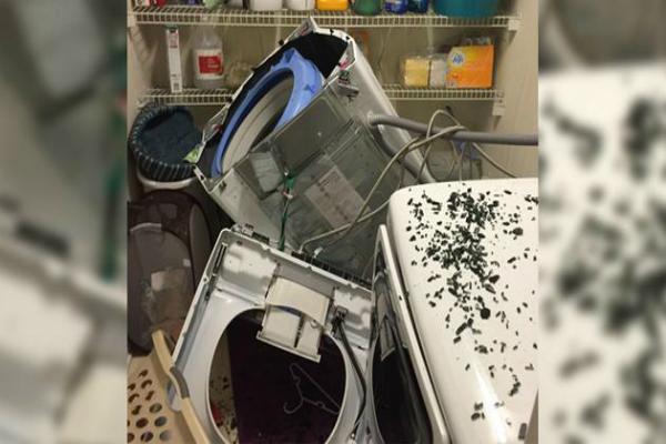Samsung बनी धमाकों वाली कम्पनी अब वाशिंग मशीन में हुआ विस्फोट