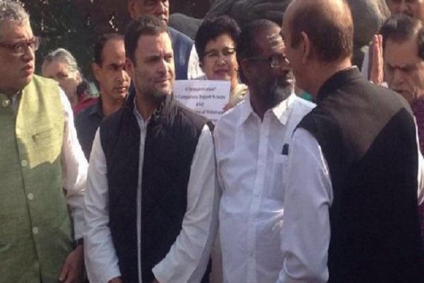 संसद में आने से क्यों घबरा रहे हैं पीएम मोदी: राहुल