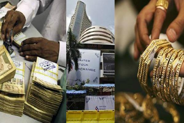 नोटबंदी का असरः सोना और शेयर मार्कीट में रही गिरावट