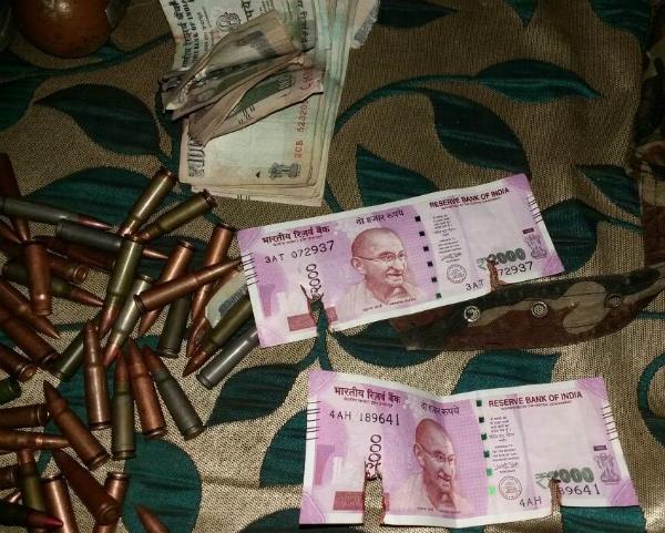 J&K:बांदीपुरा मुठभेड़ में सुरक्षाबलों ने किए 2 आतंकी ढेर, आतंकियों से 2000 के नए नोट बरामद